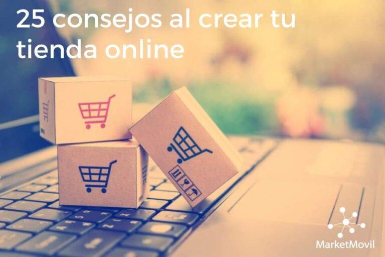 25 consejos al crear tu tienda online